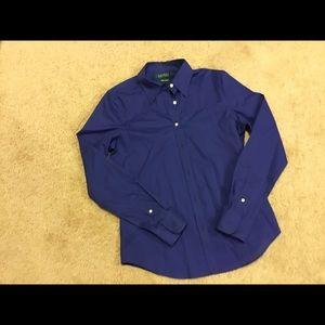 Women's Ralph Lauren button down shirt